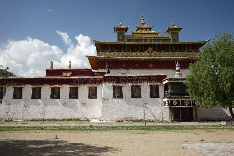 Samye Gompa nel Tibet fotografie stock libere da diritti
