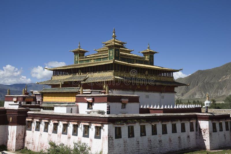 Samye kloster royaltyfria bilder