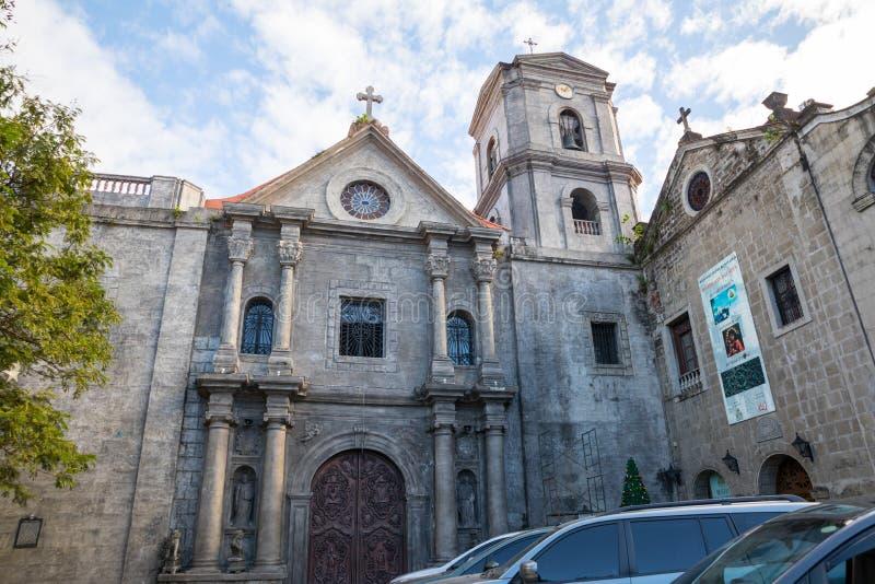 San Agustin Church à Manille photo stock