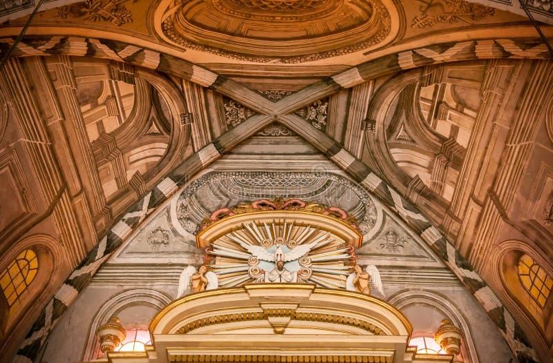 San Agustin Church, Manila, Filipinas fotografia de stock royalty free