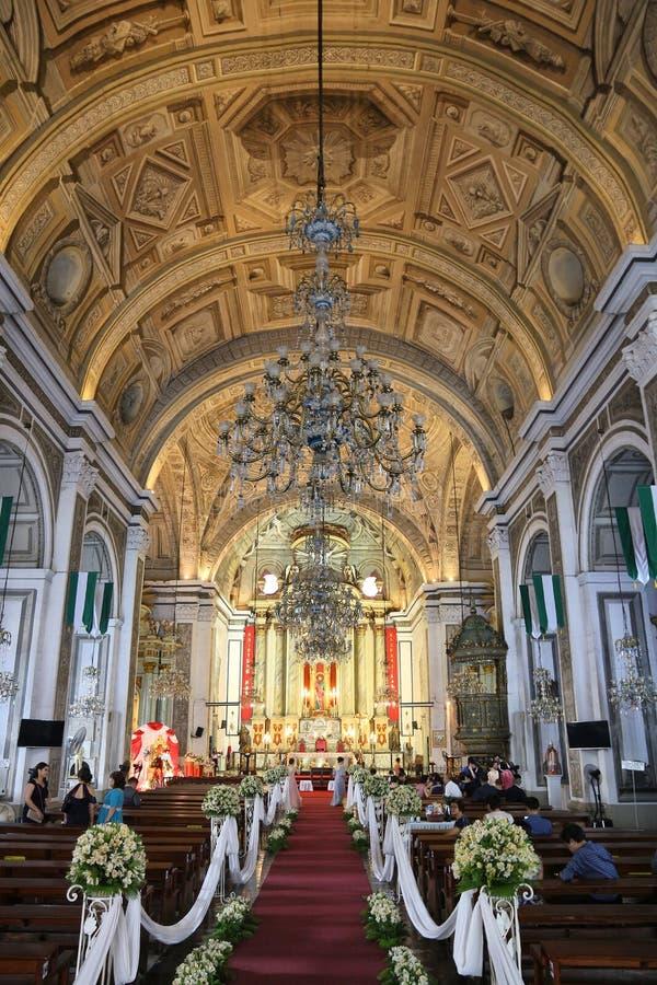 San Agustin, Manilla stock foto
