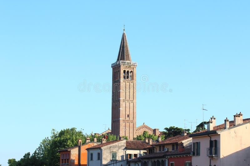 San Anastasia Church, Verona, Italia immagini stock