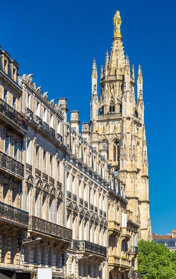 San Andre Cathedral del Bordeaux, Francia fotografia stock libera da diritti