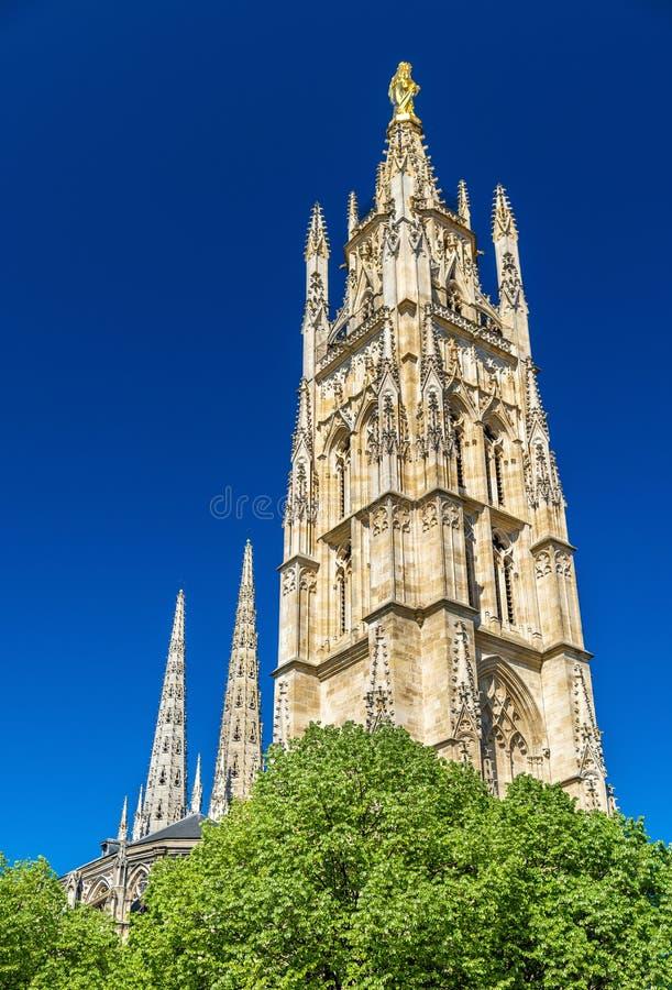 San Andre Cathedral del Bordeaux, Francia immagine stock libera da diritti