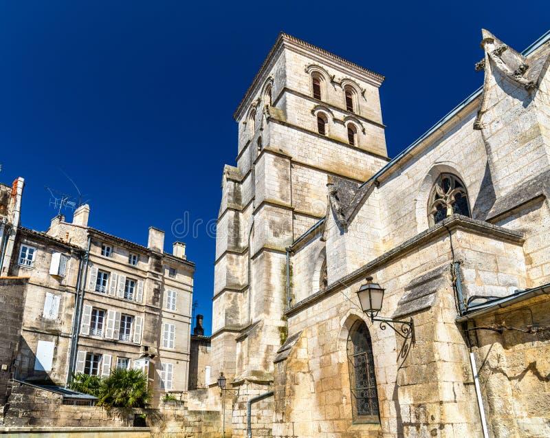 San Andre Church a Angouleme, Francia fotografia stock