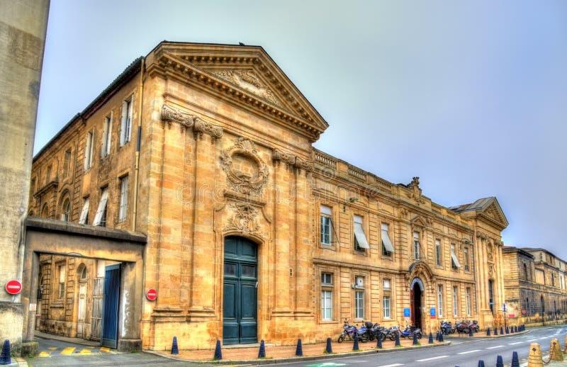 San Andre Hospital in Bordeaux, Francia fotografia stock