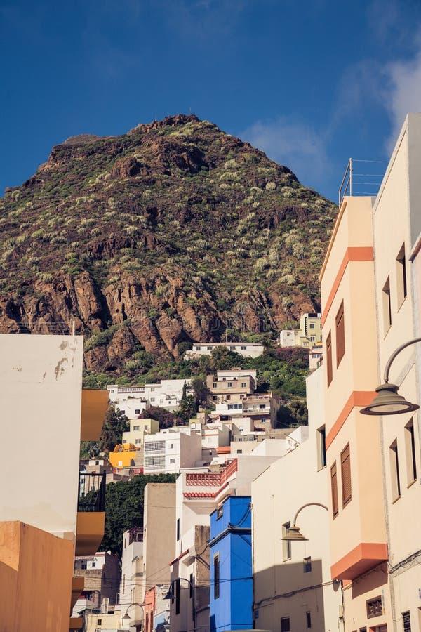 San Andres architektura, Tenerife, Hiszpania obraz royalty free