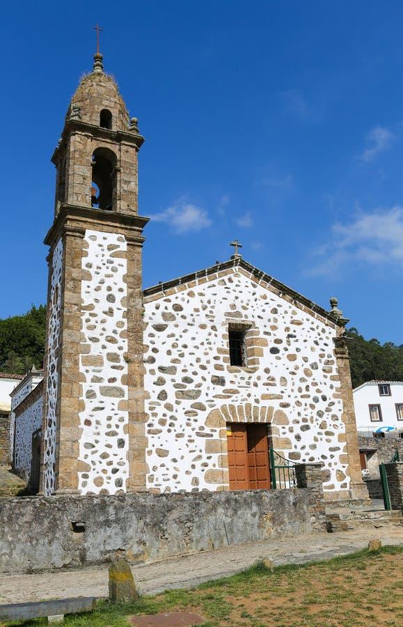 San Andres de Teixido stock afbeeldingen