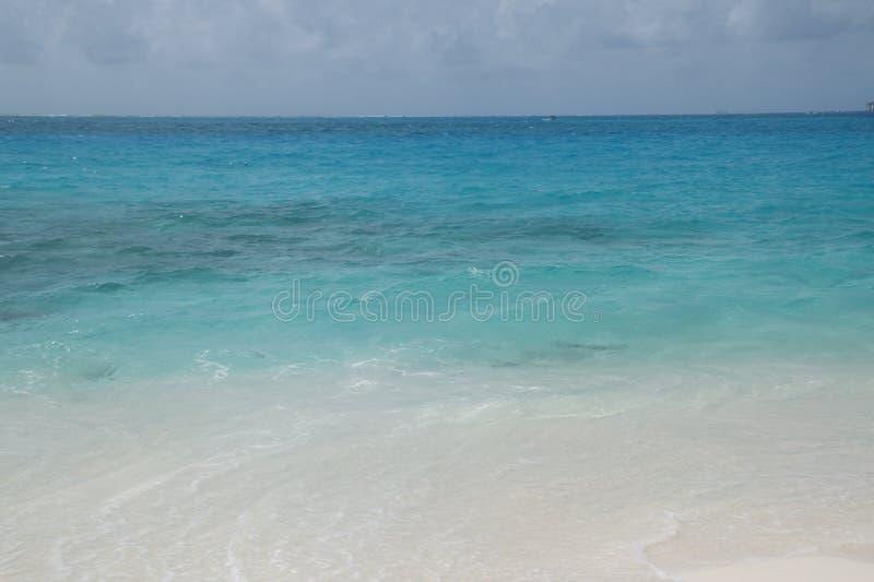 San Andres Island, Colombia, voor zijn Overzees van de Zeven Kleuren wordt gekend die stock fotografie