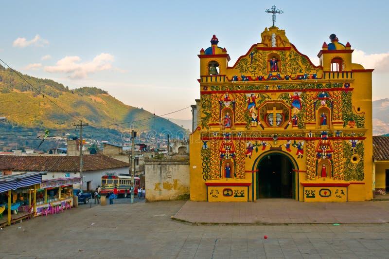 San Andres xecul-Guatemala fotos de archivo