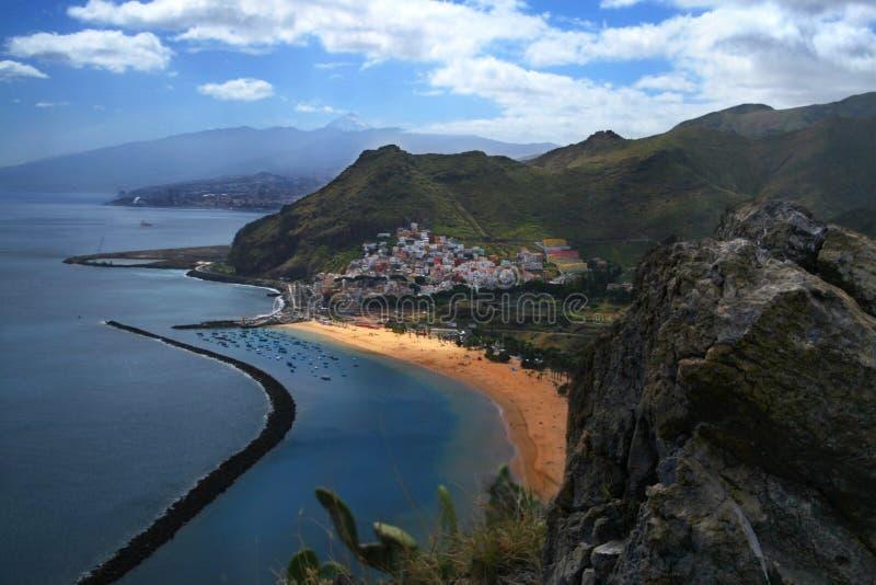 San- Andresschacht Tenerife stockbild