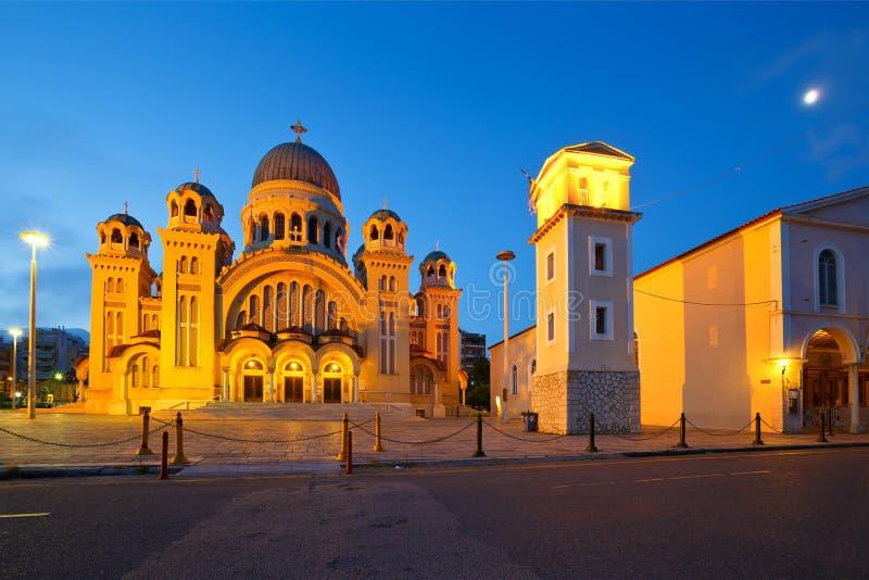 San Andrew di Patras fotografie stock libere da diritti