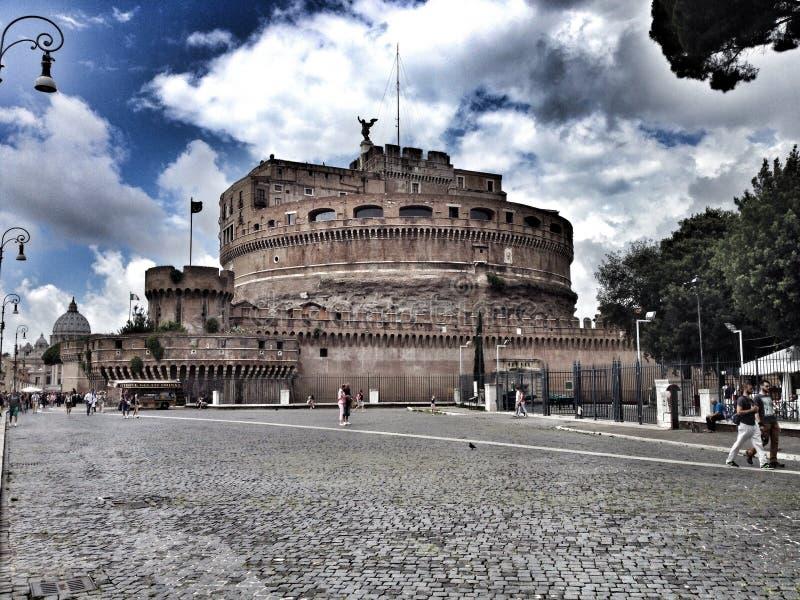San Angelo Castle, Rom, Italien lizenzfreies stockfoto
