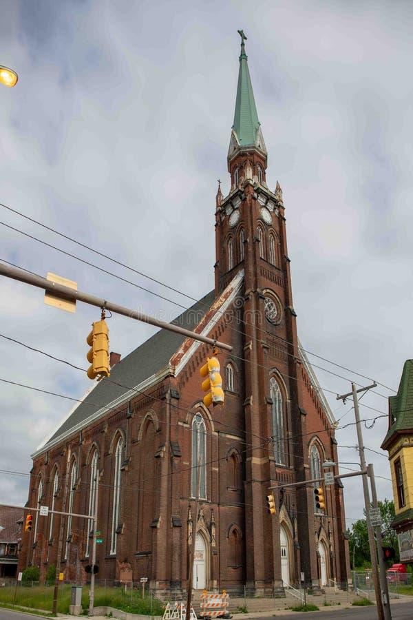 San Anthony Church Toledo Oh immagini stock