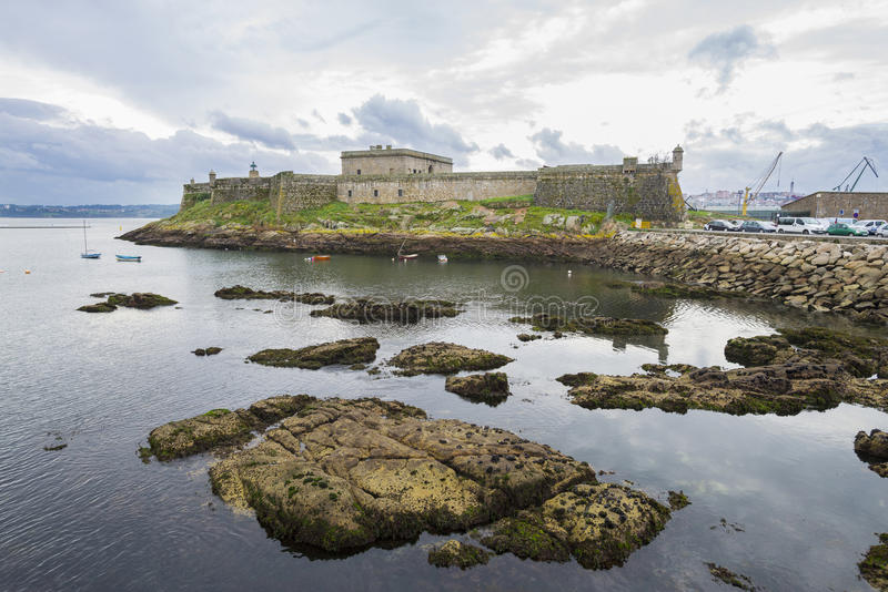 San Anton Castle arkivfoton