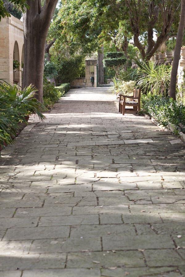 San Anton trädgårdar, Malta royaltyfria foton