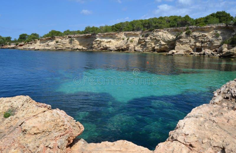 San Antoni, ibiza Insel lizenzfreies stockbild