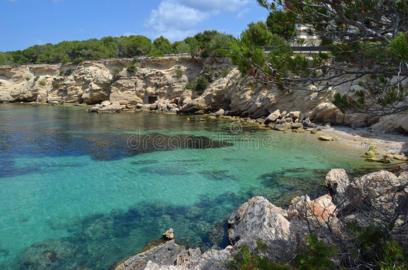 San antoni, ibiza island stock images
