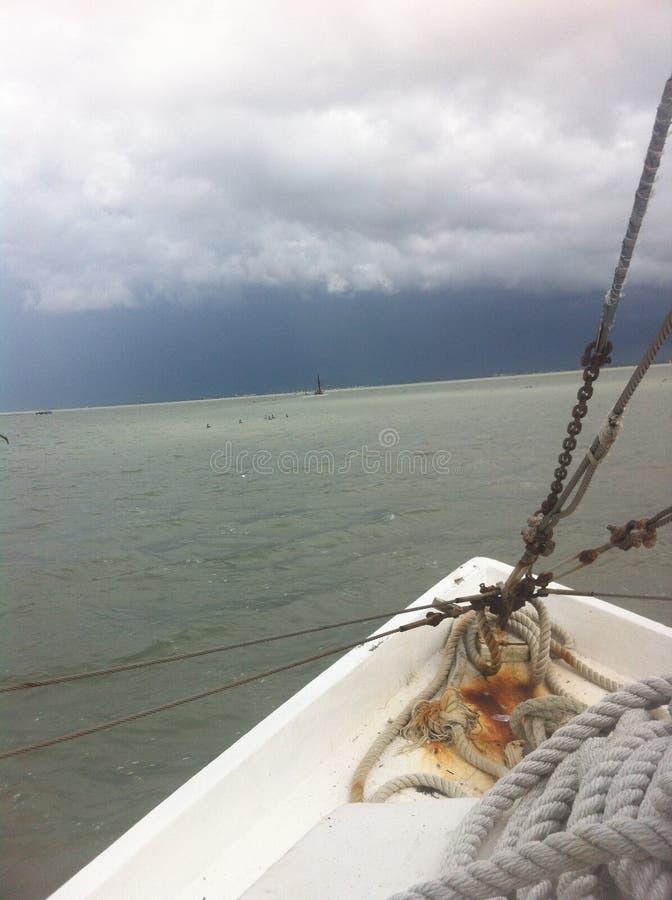 San Antonio Bay Storm fotos de archivo libres de regalías