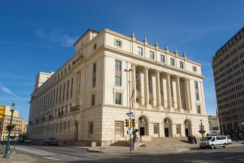 San Antonio Court House, il Texas, U.S.A. fotografia stock libera da diritti