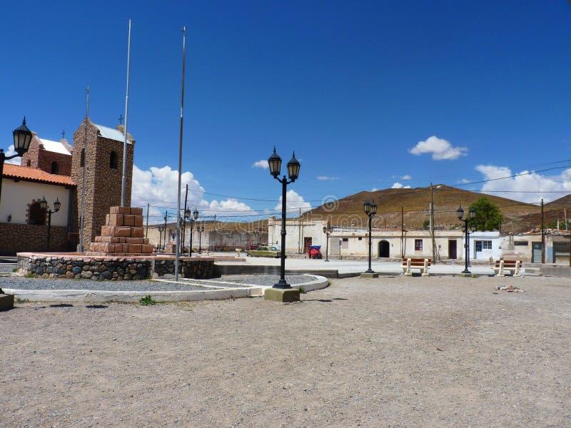 San Antonio de los Cobres fotografia de stock