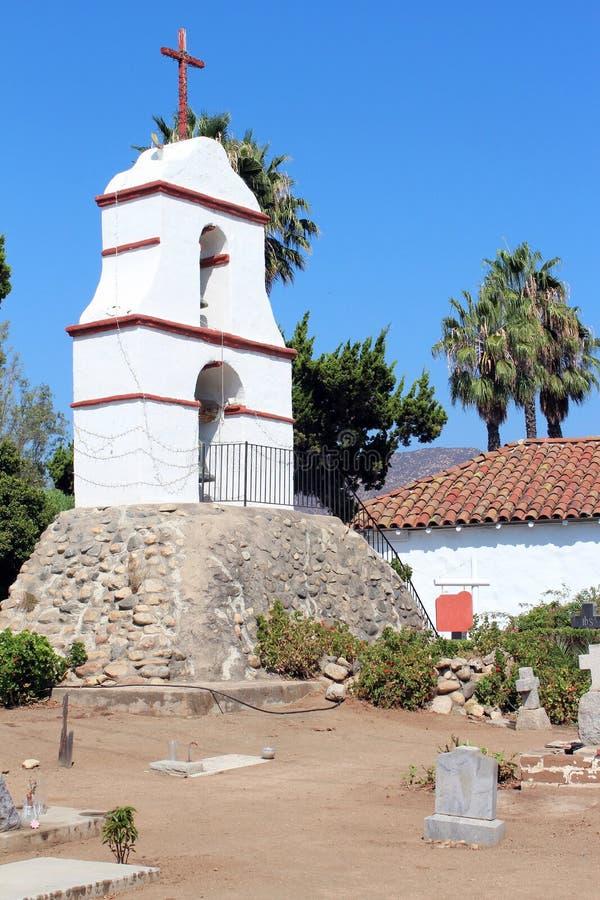 San Antonio De Pala Mission In California Stock Photo