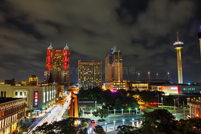 San Antonio flyg- sikt royaltyfri foto