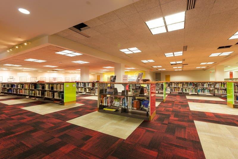 SAN ANTONIO, le TEXAS - MATCH 26, 2018 - San Antonio Central Library, la branche principale de la bibliothèque publique photo libre de droits