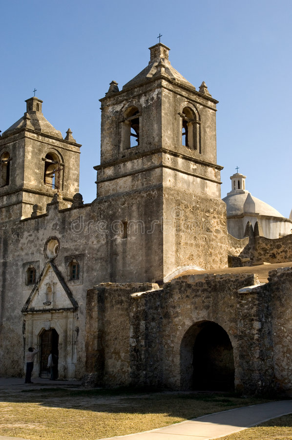 San Antonio Missions stock photo