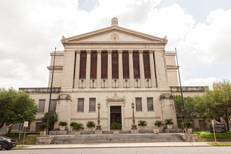 San Antonio obrządku Szkocki muzeum, Teksas fotografia stock