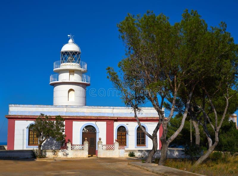 San Antonio przylądka latarnia morska w Hiszpania obrazy stock