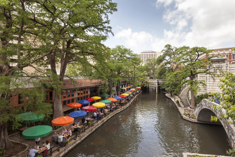 San Antonio River Walk, Texas lizenzfreies stockfoto