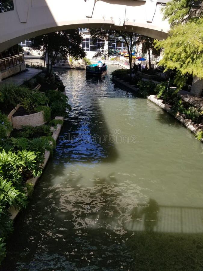 San Antonio Riverwalk fotografia de stock