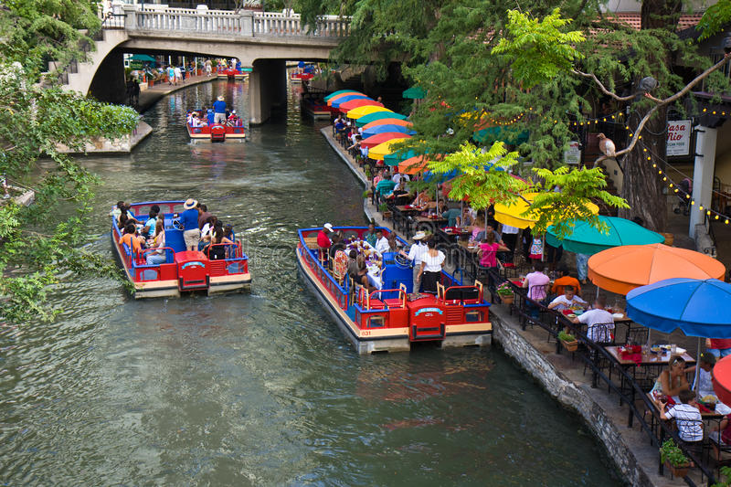 San Antonio Riverwalk lizenzfreies stockbild