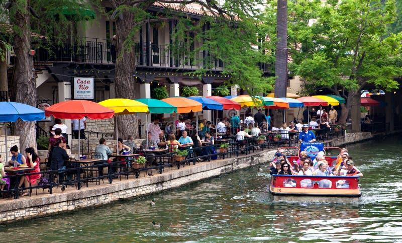 San Antonio Riverwalk stock afbeeldingen