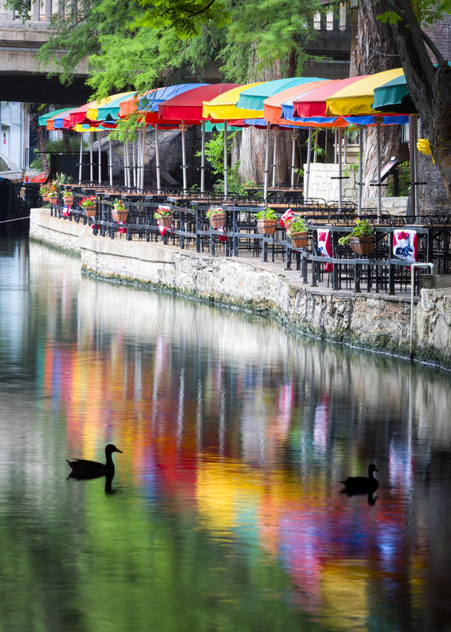 San Antonio Riverwalk photo stock