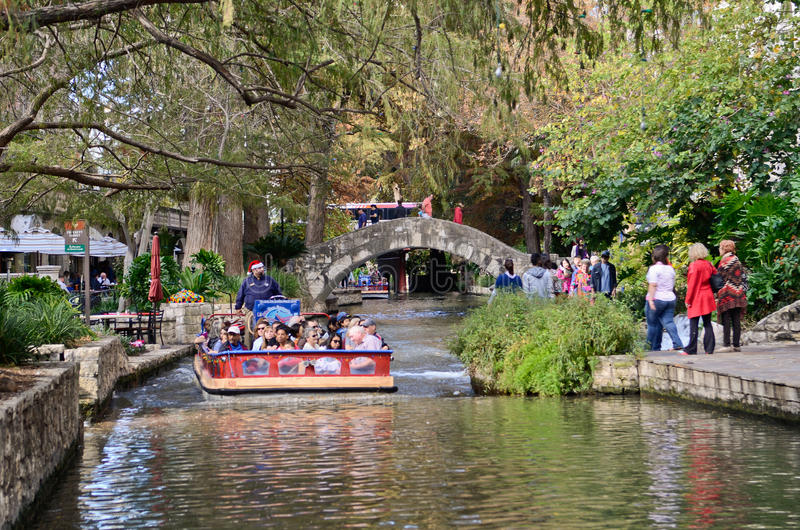 San Antonio Riverwalk fotos de archivo