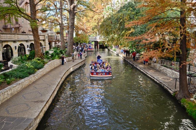 San Antonio Riverwalk foto de archivo