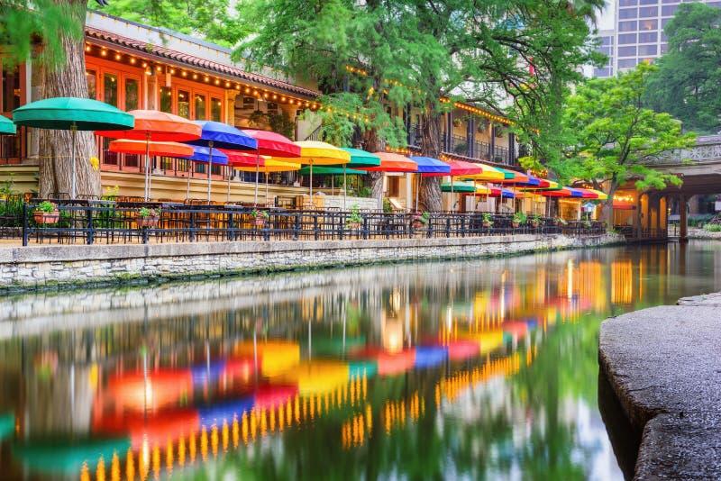 San Antonio Riverwalk stockbild