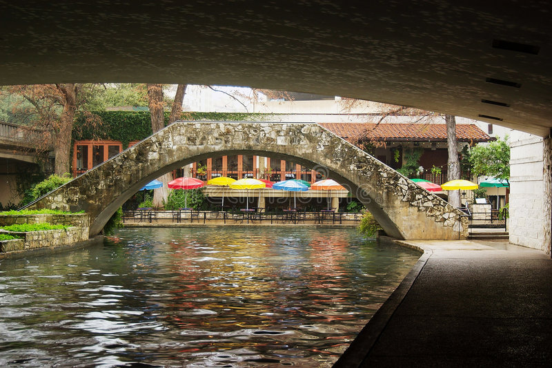 San Antonio Riverwalk stockbild