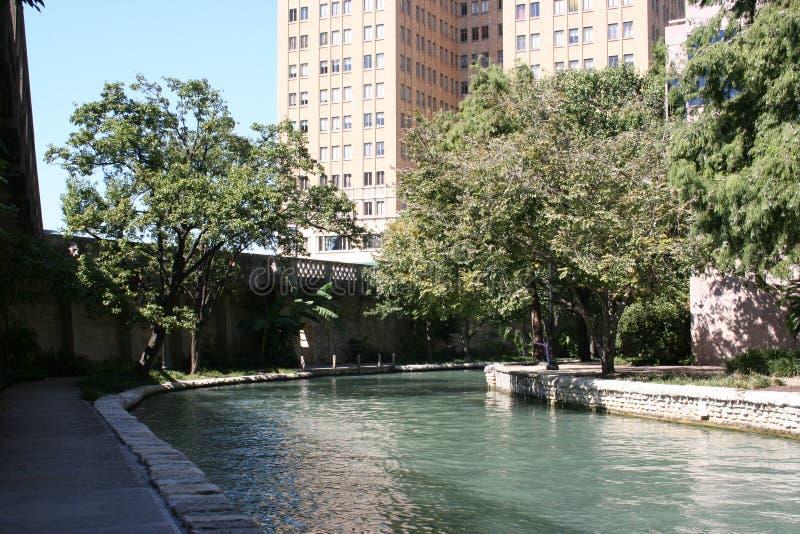 San antonio riverwalk Teksas obraz stock