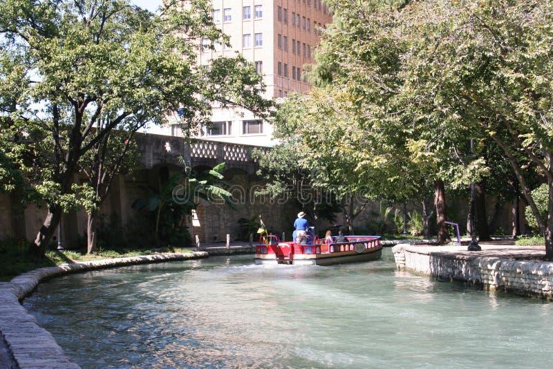 San antonio riverwalk Teksas obraz royalty free