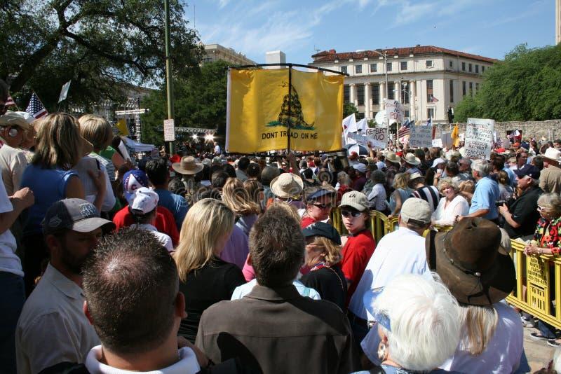 San Antonio Tea Party royalty free stock image