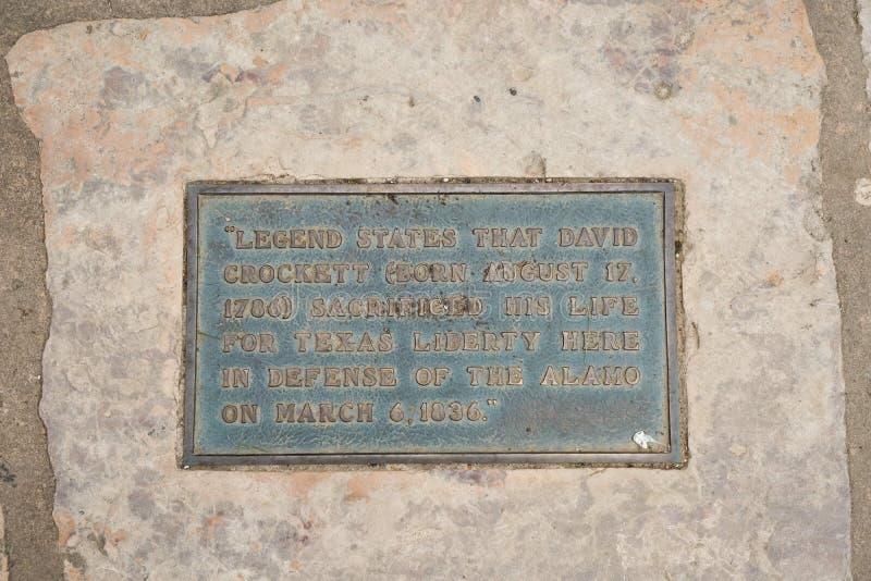 San Antonio Texas Alamo Plaza stock photos