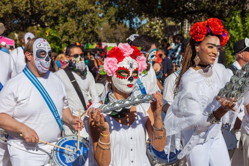 Dia De Los Muertos Carnival Day Of The Dead Parade