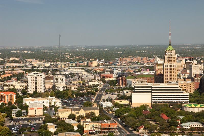 San Antonio van de binnenstad royalty-vrije stock afbeeldingen