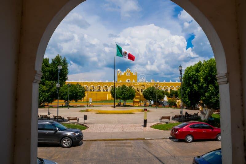 San Antonio van het Klooster van Padua in Izamal royalty-vrije stock foto's