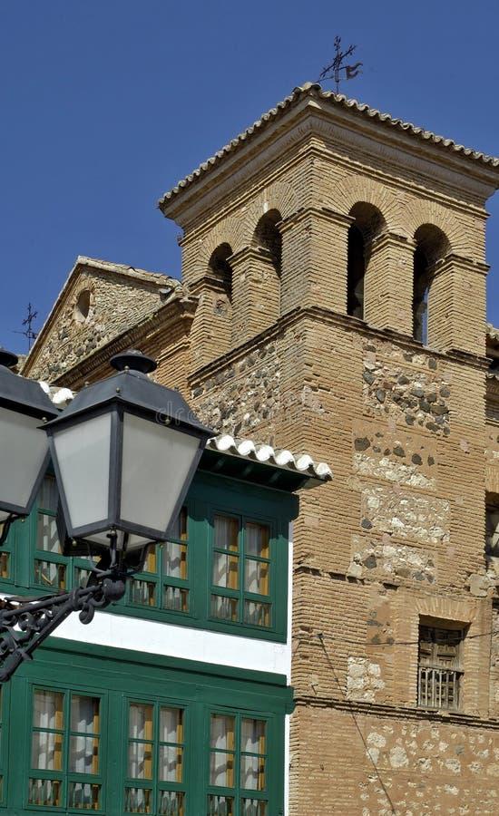 San Augustin kościół w Almagro Ciudad Real, Hiszpania, - obraz royalty free