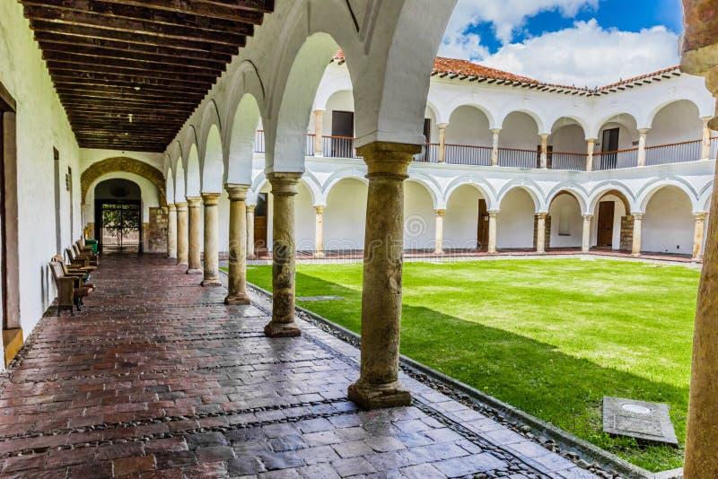 San Augustin przyklasztorny los angeles Candelaria Bogota Kolumbia zdjęcie royalty free