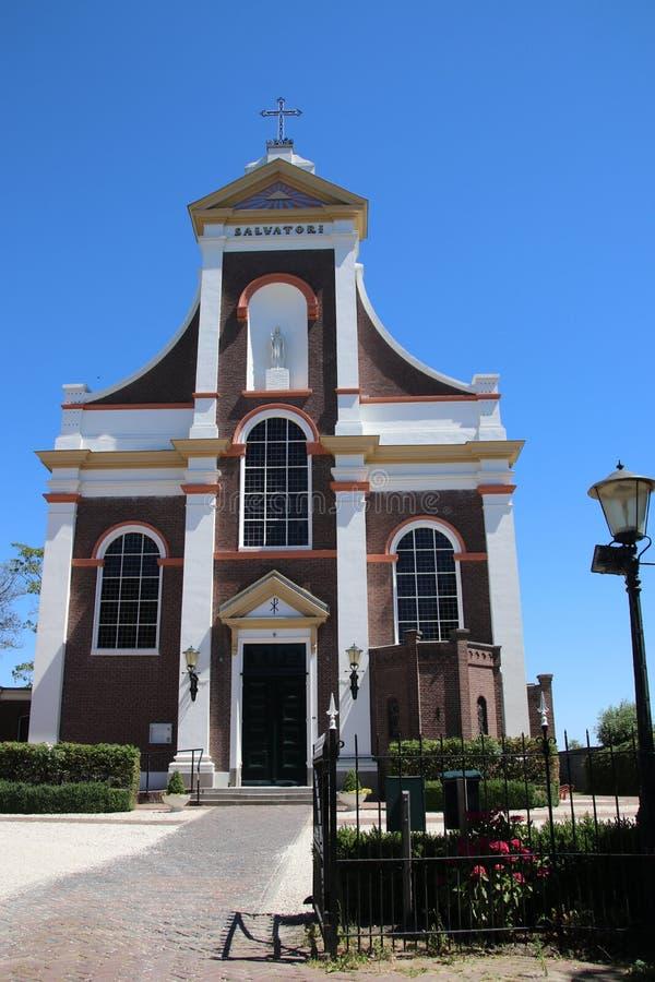 San Barnabas della chiesa cattolica nella città di Haastrecht nei Paesi Bassi fotografia stock libera da diritti